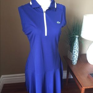 Lacoste tennis dress size 42(fits size 10)